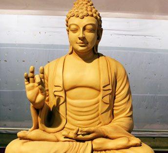 Fiberglass Buddha Statue