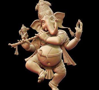 Fiberglass Hindu God