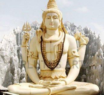Shiva Statue of fiberglass
