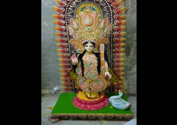 Fiberglass High Quality Design Maa Durga Statue