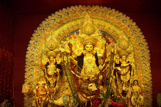 Fiberglass Maa Durga Statue