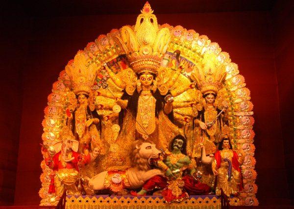 Fiberglass Maa Durga Statue
