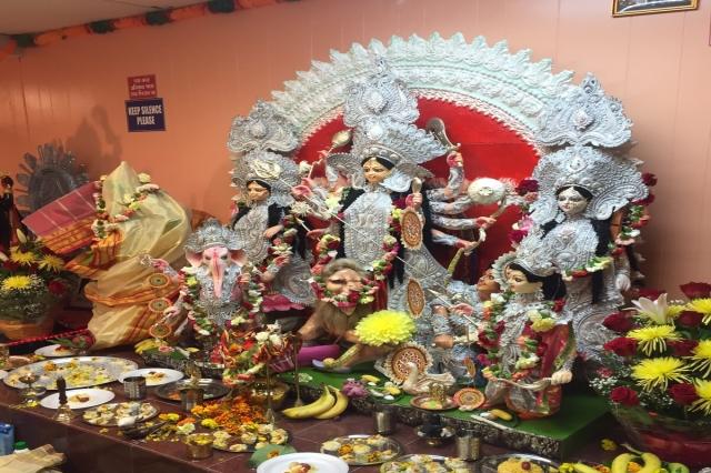 Durga Mandir Fiberglass Maa Durga