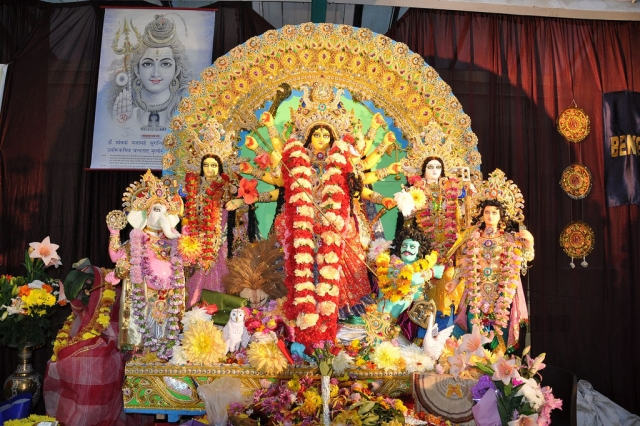 Fiberglass BAGA Akchali Maa Durga