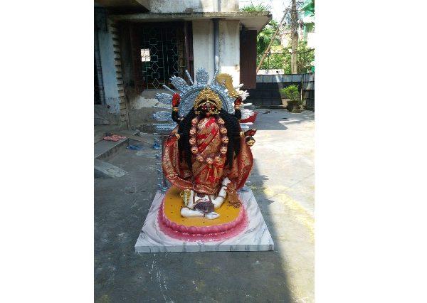 Fiberglass Dakshina Kali Statue