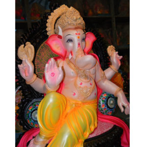Fiberglass Ganesha in Blessing mode