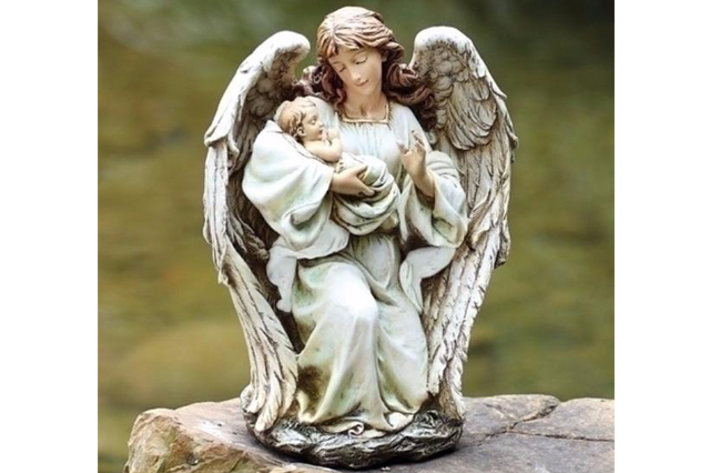 Fiberglass Loving Angle statue