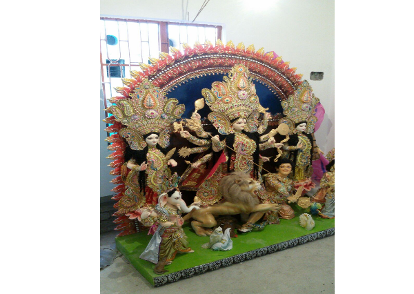 Fiberglass Maa Durga Akchali