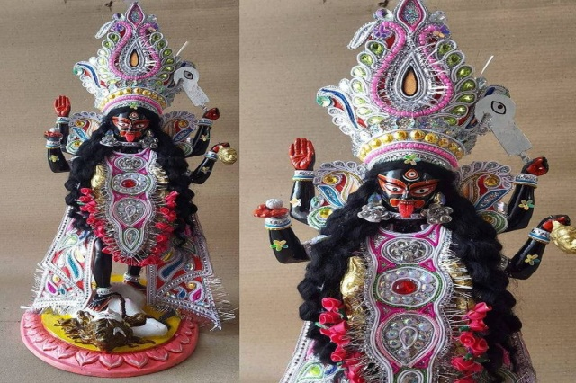 Fiberglass Maa Kali Statue