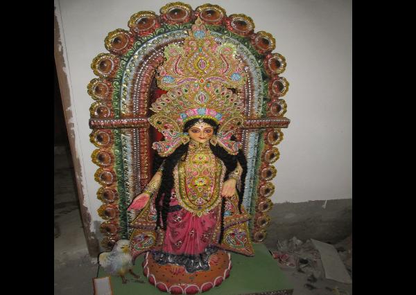 Fiberglass Maa Laxmi Statue