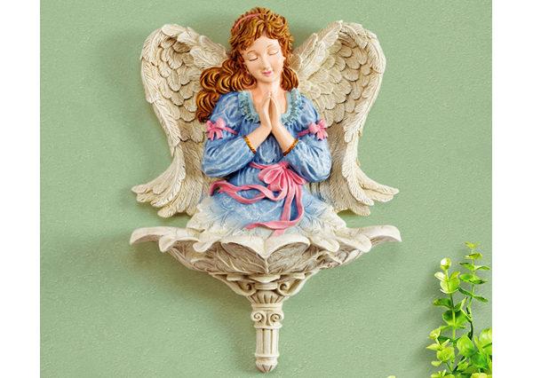 Fiberglass Praying Angle Statue