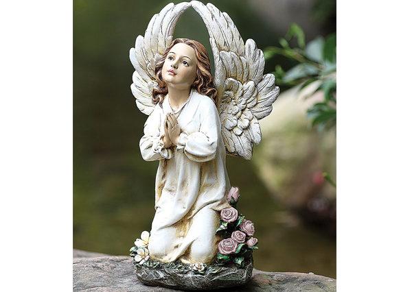 Fiberglass Praying Little Angle statue