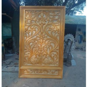 Fiberglass Golden Finsh Back Drop