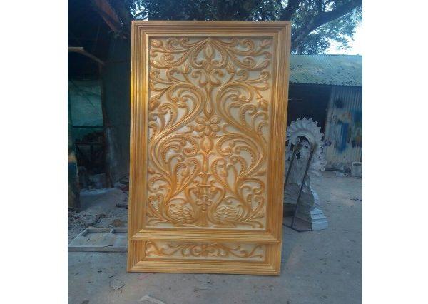 Fiberglass Golden Finsh Back Drop