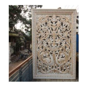 Fiberglass Off white finish Back Drop design