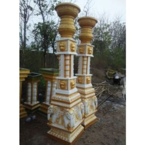 Fiberglass Elephant Head pillars