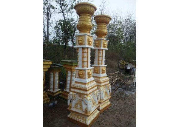Fiberglass Elephant Head pillars