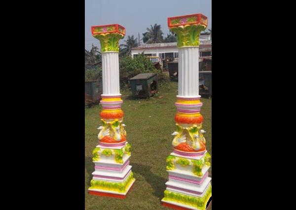 Fiberglass Temple pillars