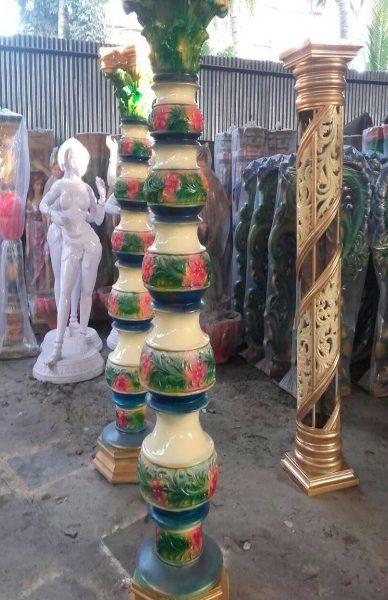 Fiberglass Kalash pillars