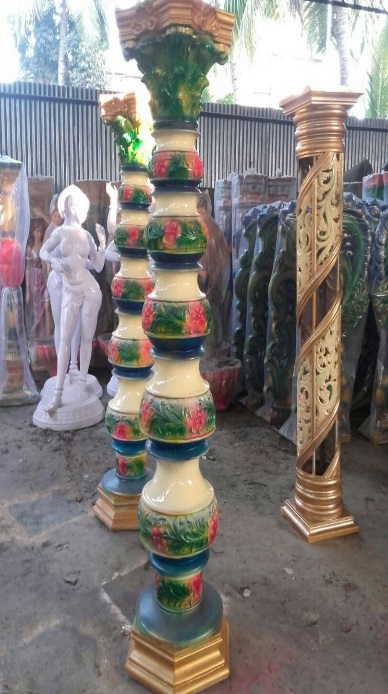 Fiberglass Kalash pillars