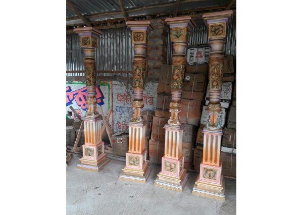 Fiberglass Artistic pillars