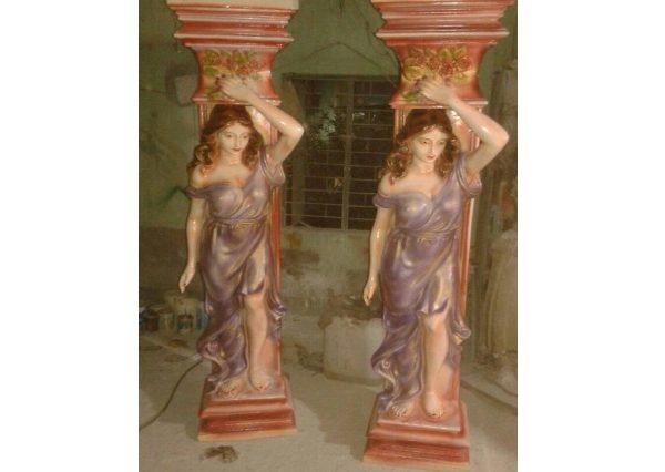 Fiberglass Statue pillars