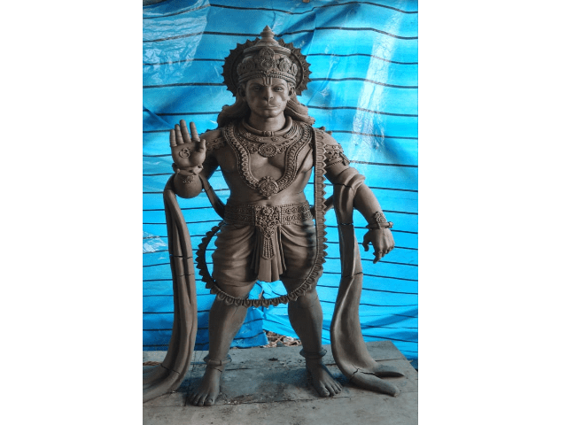 Fiberglass Lord Hanuman Statue