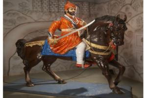 Fiberglass Shivaji Maharaj Statues