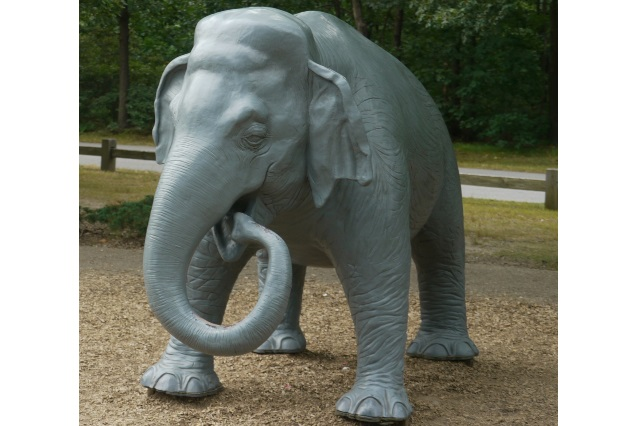 Fiberglass Elephant Statue