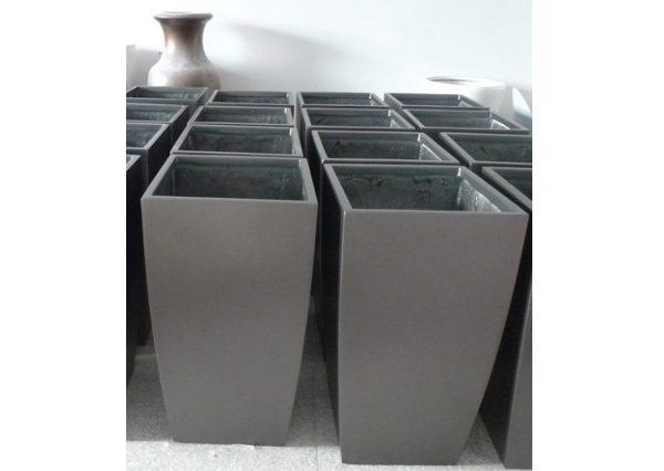 Fiberglass Rectangular Drum planter