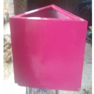 Fiberglass Triangular planter