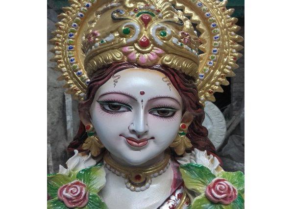 Fiberglass Saraswati Statue