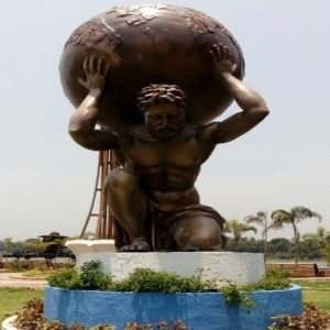 Fiberglass Big Statue (Garden Sculpture)