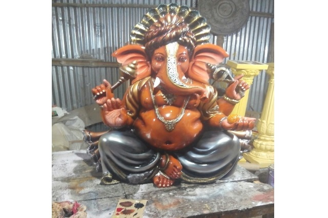 Fiberglass Lord Ganesha Statue