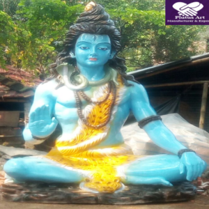 10 Feet Sitting Shiva Statue