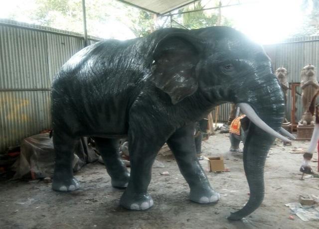 Fiber Elephant 8 feet