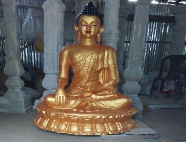 Fiber Golden Lord Buddha