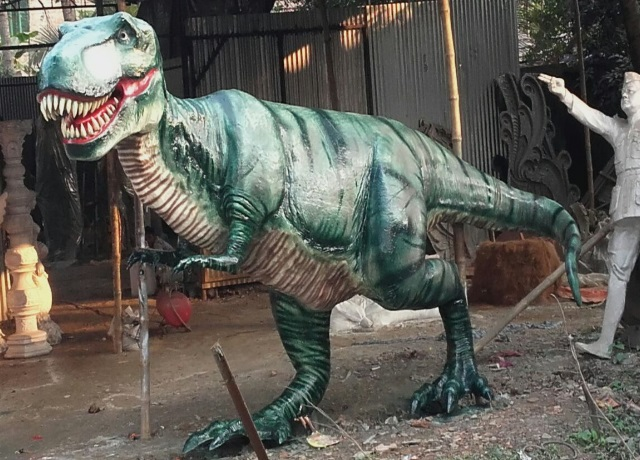 Fiberglass Dinosaur Sculpture