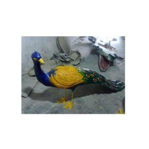 Fiberglass Peacock