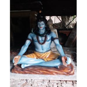Fiberglass 6 feet Lord Shiva Statue