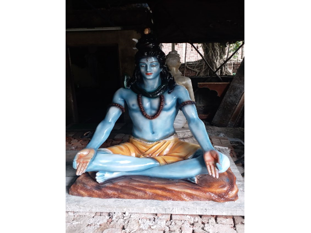 Fiberglass 6 feet Shiva statue