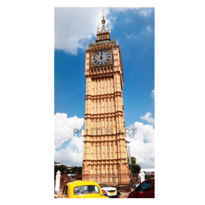 Fiber Made Big Ben Tower 100 feet
