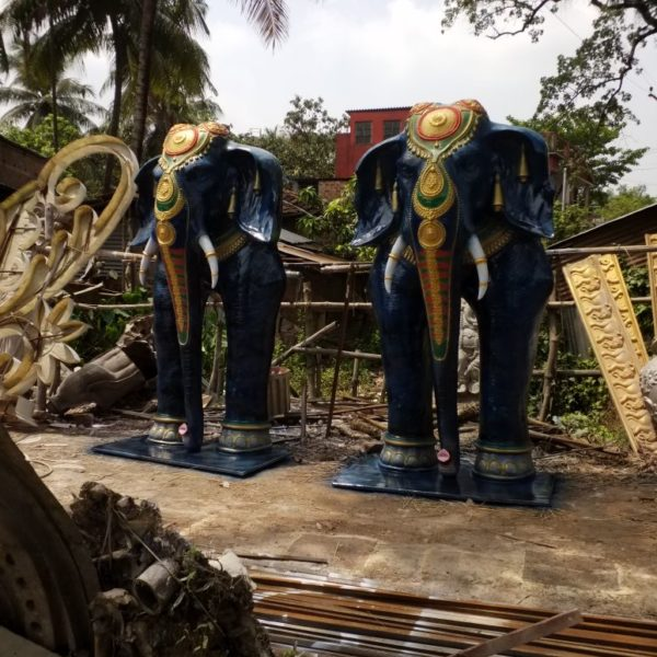 Fiberglass Design Elephant 9.5 feet