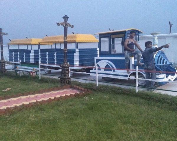 Children Park Toy Train