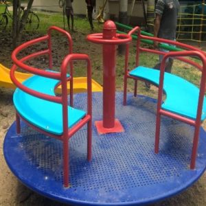 Plutus Art designed, Spinner for Children Park decoration