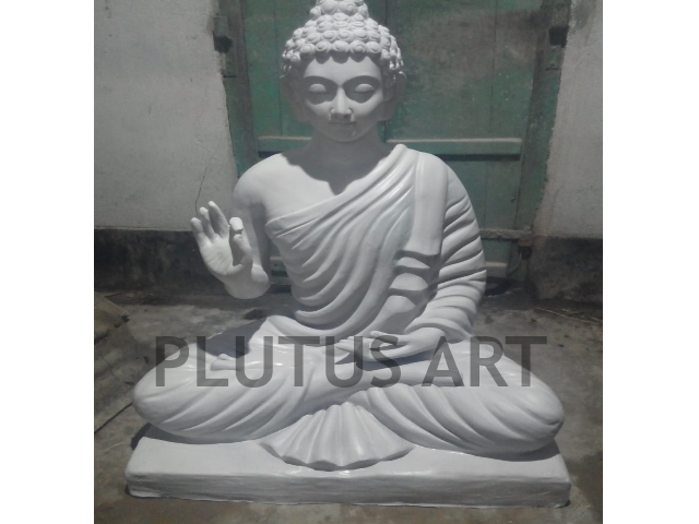 Fiberglass Blessing Buddha Statue