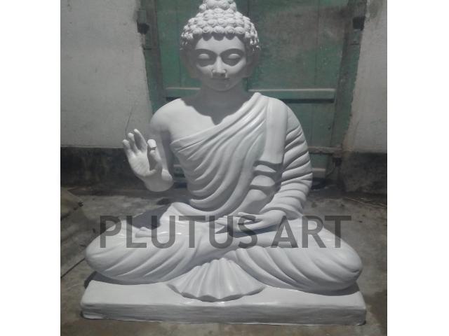 Fiberglass Blessing Buddha Statue