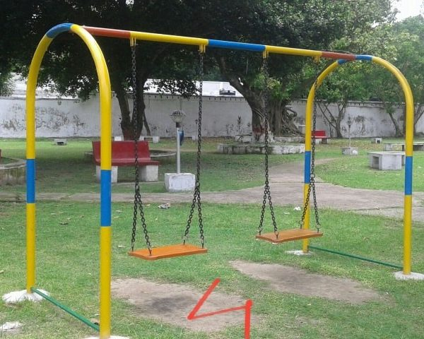Children park Rocking