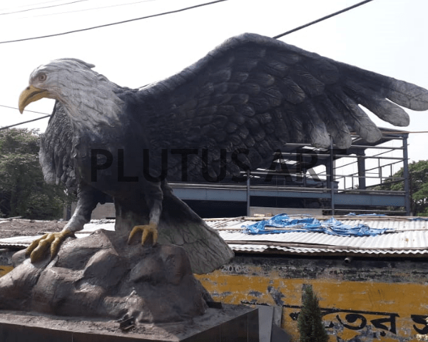 Fiberglass Eagle Sculptures