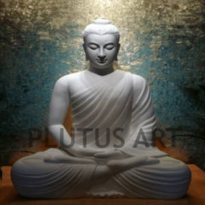 Plutus Art, Buddha Statue in Deep Meditation